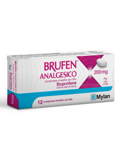 Brufen analgesico 200 mg 12 cpr (042386058)