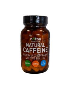 Natural Caffeine 200 mg 60 cps